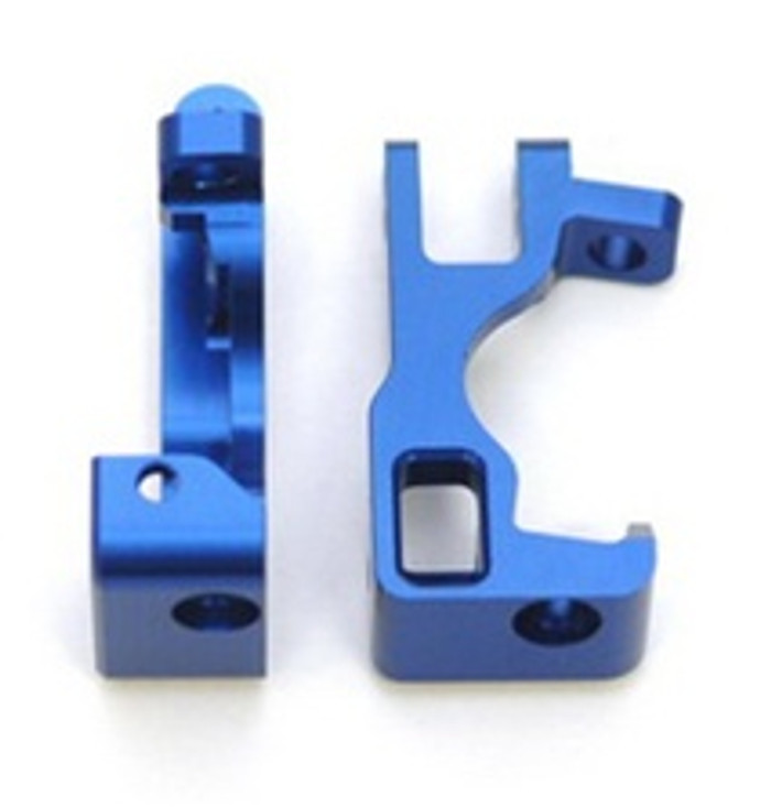 ST RACING CNC Machined Aluminum Front C-Hubs Slash/Stampede 4x4 (Blue), 6832B