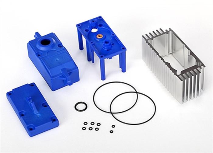 Traxxas Servo Case/Gaskets - X-Maxx, 2086