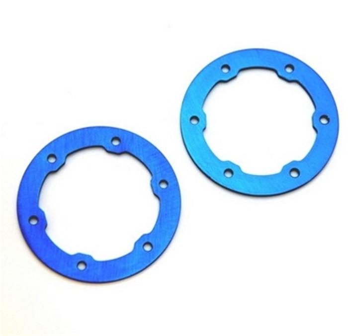 ST Racing Concepts Aluminum LW Beadlock Rings for Proline Slash/Slayer Epic/Split Six Rims (Blue), 6236B