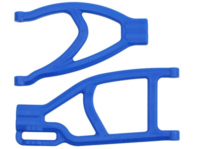 RPM Extended Left Rear A-Arms for the Traxxas Summit, Revo, and E-Revo - Blue, 70435