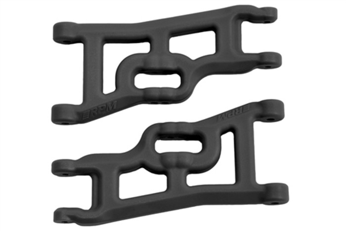 RPM Offset-Compensating Front A-Arms for Traxxas Slash 2WD and Nitro Slash - Black, 70552