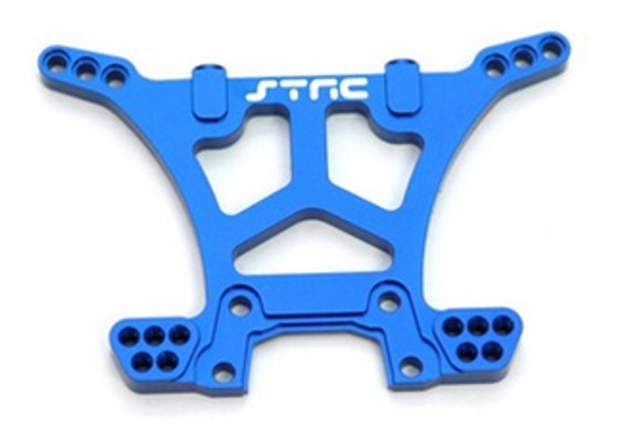 ST RACING CNC Machined Aluminum HD Rear Shock Tower Slash 4x4 (Blue), 6830B