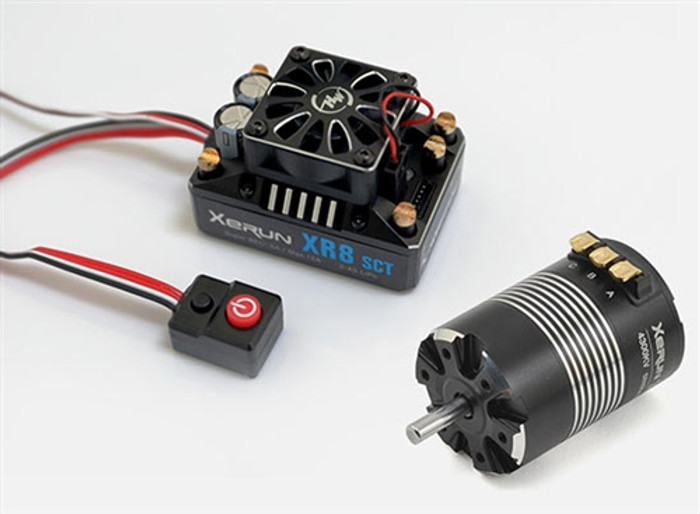 Hobbywing XR8 SCT Pro ESC Combo w/Xerun 3660SD 4300kv Motor, 38020411