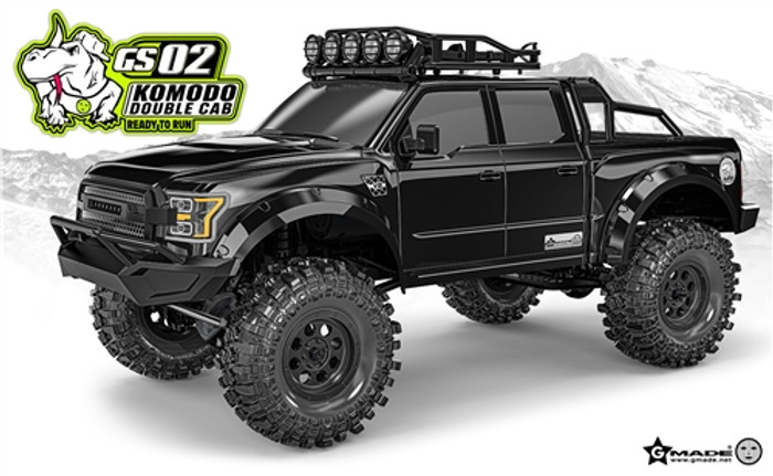 Gmade Komodo Double Cab TS RTR 4WD Off-Road Truck, 57005