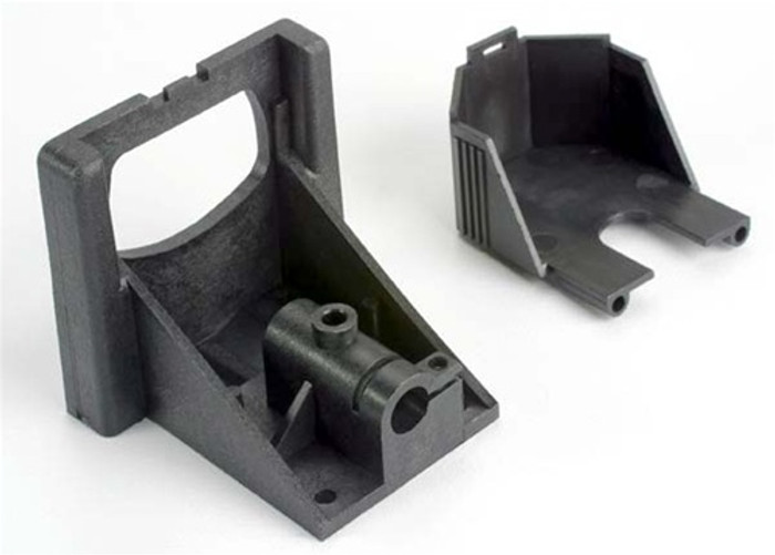 Traxxas Motor Mounting Bracket and Gear Cover Villain EX, 1521X