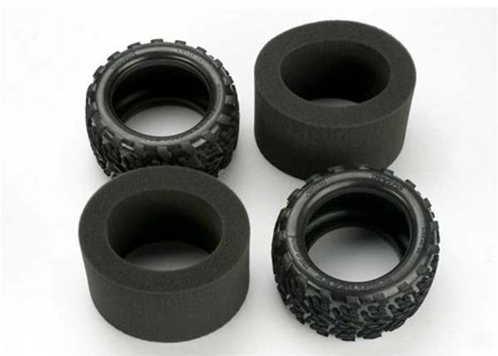 """Traxxas Talon Tires 3.8"""" with Inserts, 5370"""