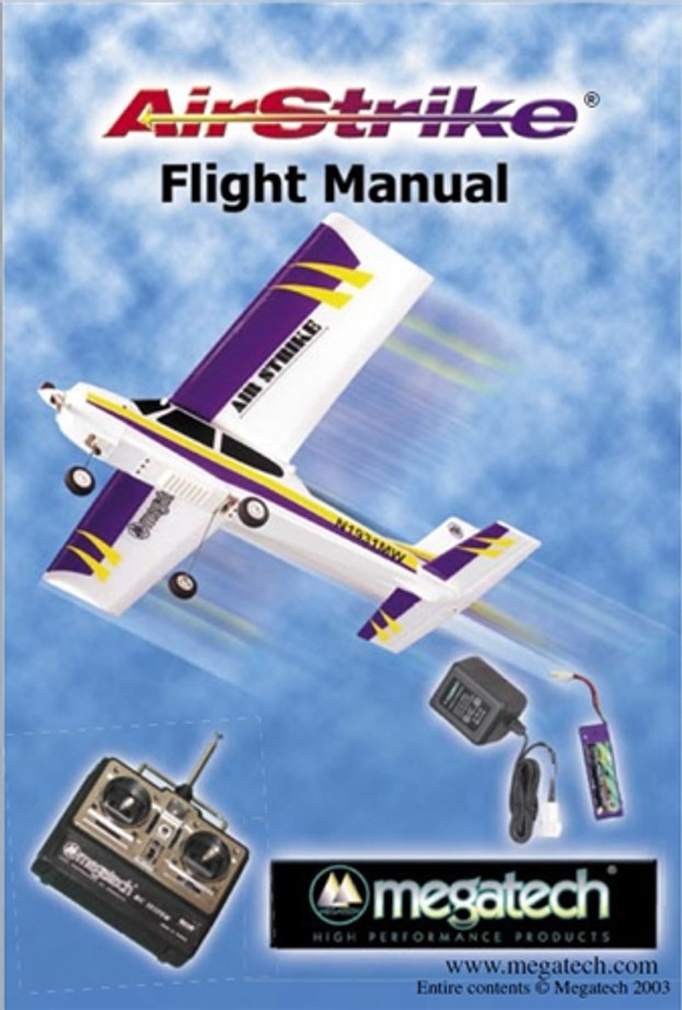 Megatech Airstrike Airplane User Manual Download