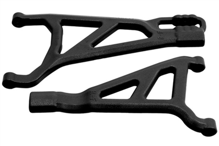 RPM Front Right A-Arms for Traxxas Revo 2.0 - Black, 81462