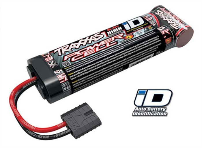 Traxxas Series 5 Power Cell 8.4V 5000mAh NiMh Battery w/iD Connector, 2960X
