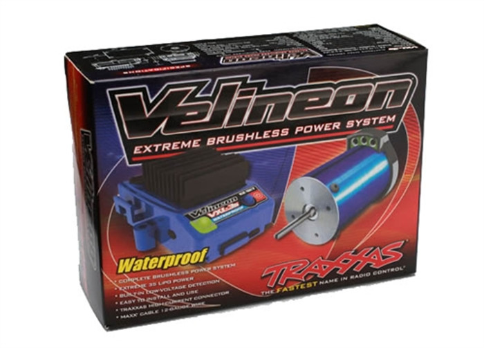 Traxxas Velineon VXL-3s Waterproof Brushless Power System, 3350R