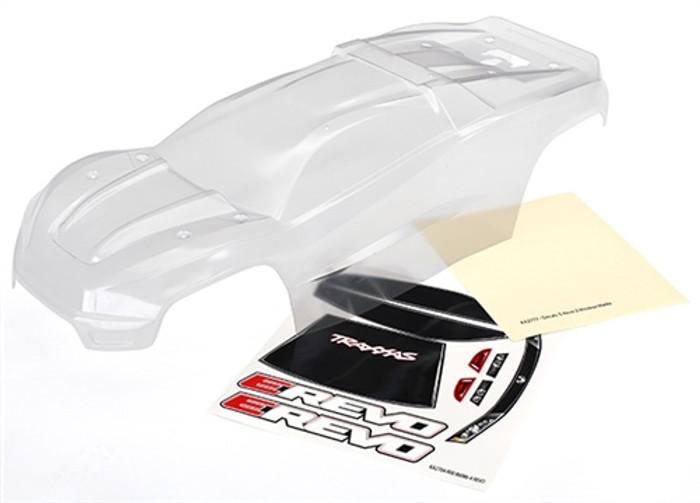 Traxxas Clear Body for E-Revo Brushless, 8611