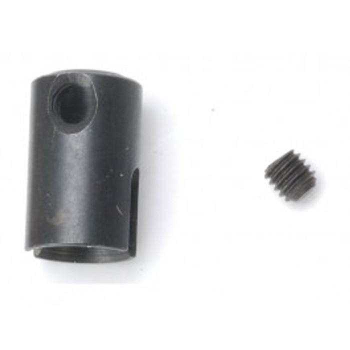 DHK Center Diff Outdrive with Lock Nut (4x4mm) for the Wolf and Raz-R, 8131-205