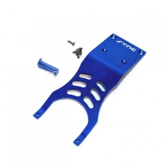 ST Racing Concepts Aluminum Front Skid Plate for Traxxas Slash 2WD (Blue), 5837B