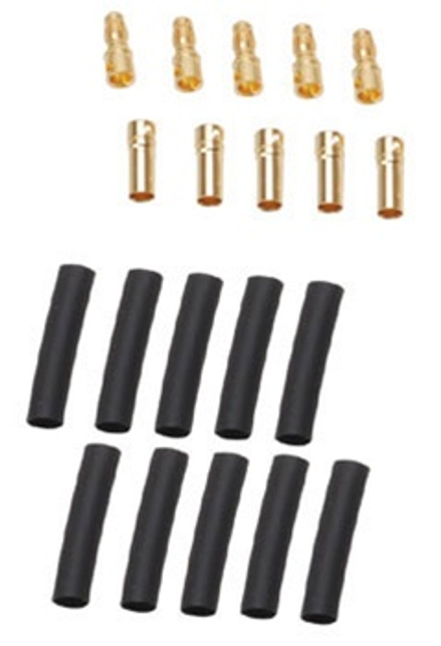 Novak 4mm Low Loss Power Connector - 5 pairs