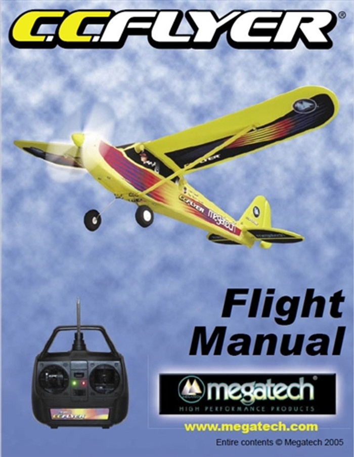 Megatech CC Flyer Airplane User Manual Download