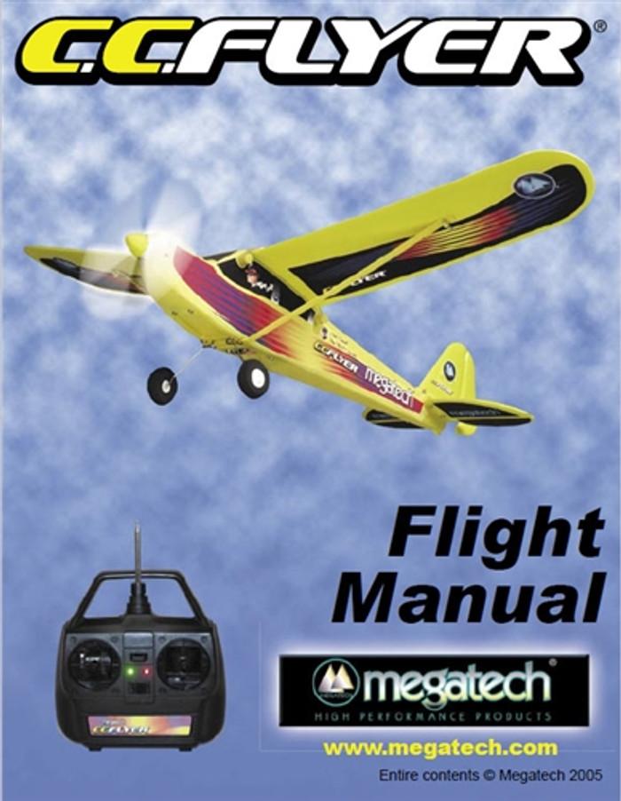 Megatech CC Flyer Airplane User Manual Download