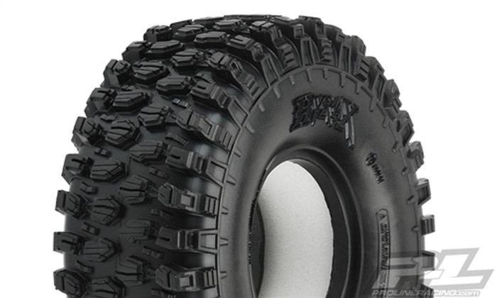 "Pro-Line Hyrax 1.9"" Predator Super Soft Rock Terrain Truck Tires for Crawler Front or Rear, 10128-03"