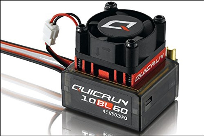 Hobbywing Quicrun 10 Brushless Sensored ESC (2-3S), 30108000