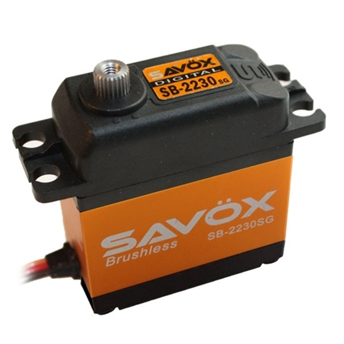 Savox SB-2230SG Monster Torque Brushless Tall Steel Gear Digital Servo