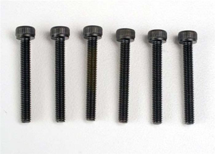 Traxxas Header Screws 3x23mm Cap Hex, 2556