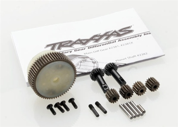 Traxxas Planetary Gear Differential w/Steel Ring Gear (complete), 2388X