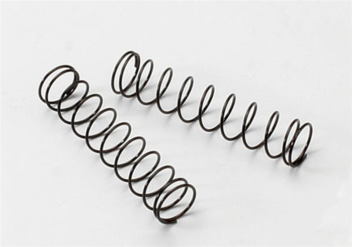 Traxxas Black Rear Springs (2), 3757