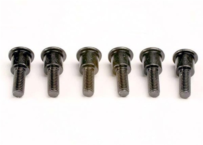 Traxxas Attachment screws, shock (3x12mm shoulder screws) (6), 3642