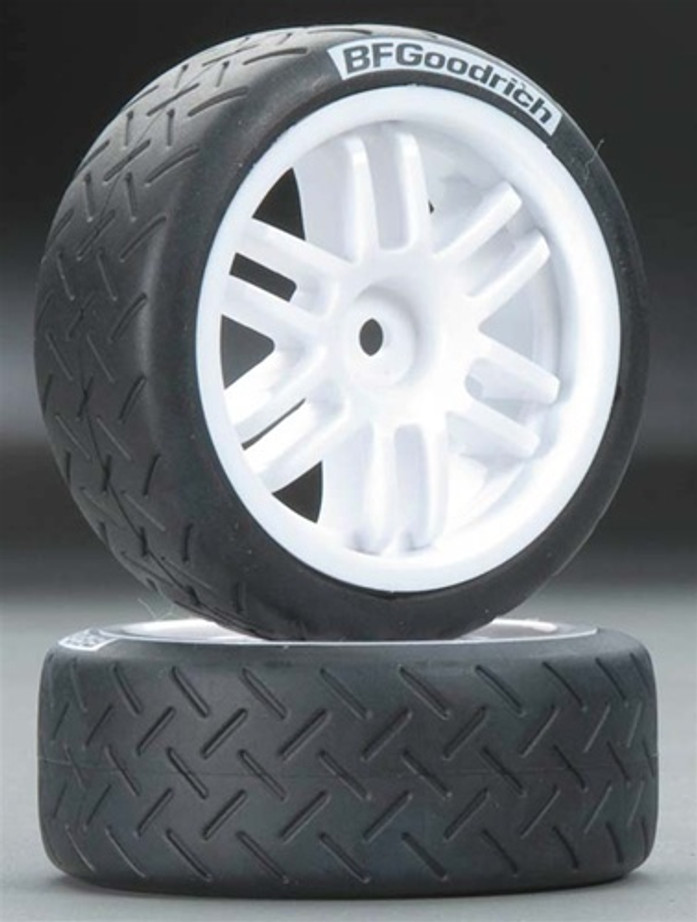 Traxxas Rally Wheels and BFGoodrich Rally Tires Assembled, 7372