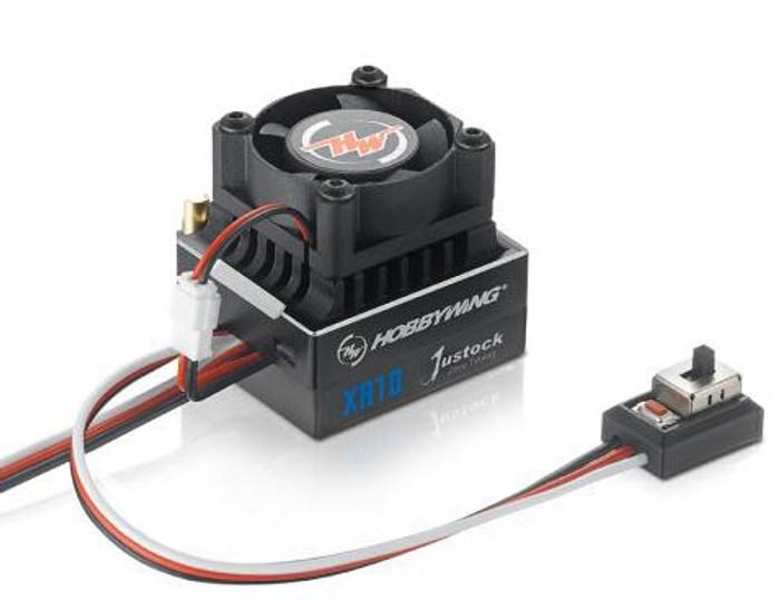 Hobbywing XeRun XR10 Justock Sensored Brushless ESC, 30112000