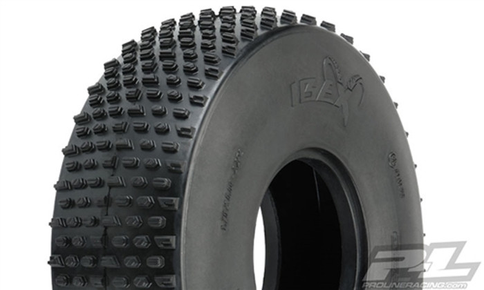 "Pro-Line Ibex Ultra Comp 2.2"" Predator Super Soft Rock Terrain Truck Tires for Crawler Front or Rear, 10178-03"