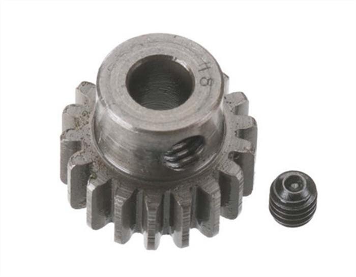 Robinson Racing 18T Extra Hard 5mm Brushless Motor Pinion Gear, 8718
