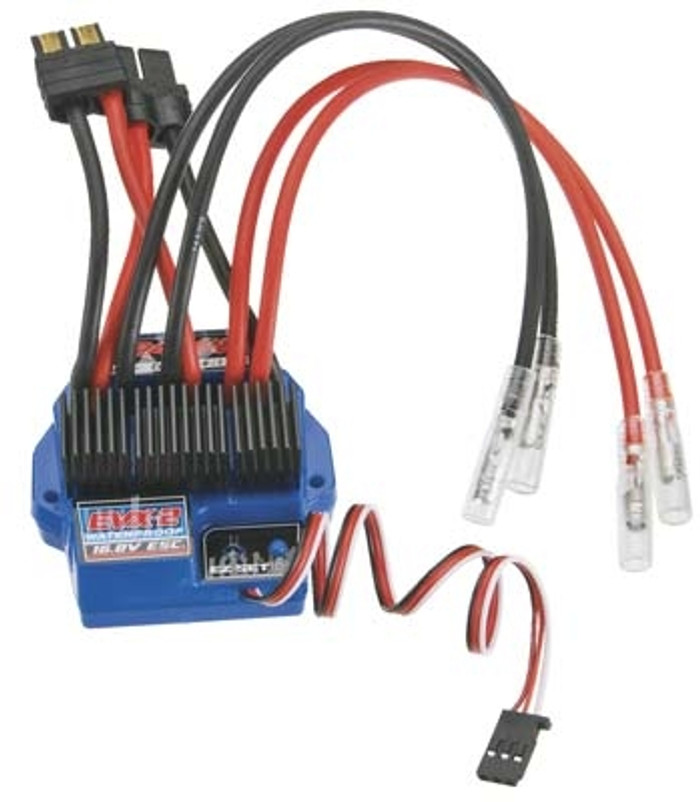 Traxxas EVX-2 Electronic Speed Control with LVD (waterproof, land, fwd/rev), 3019R