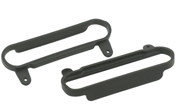 RPM Nerf Bars for Traxxas Slash 2WD/Slash 4X4 - Black, 80622