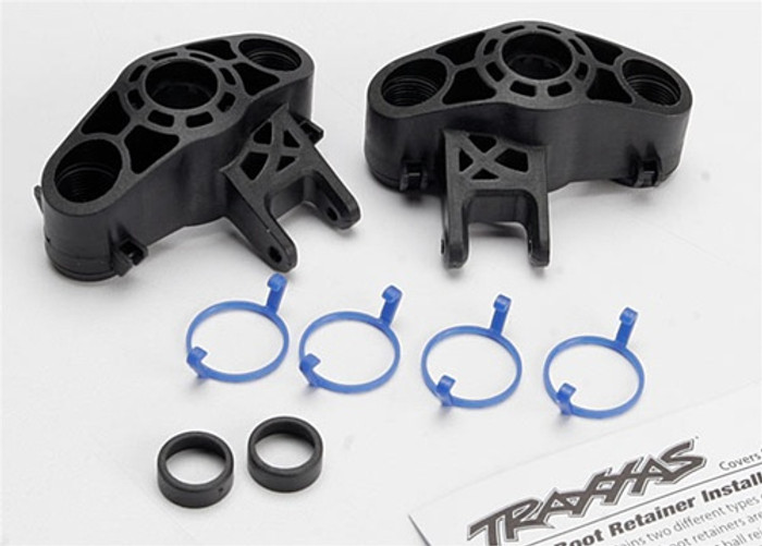Traxxas Axle Carriers Left and Right for use with larger 6x13mm ball bearings., 5334R