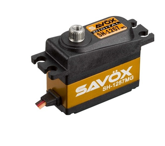 Savox SH-1257MG Super Speed Metal Gear Mini Digital Servo