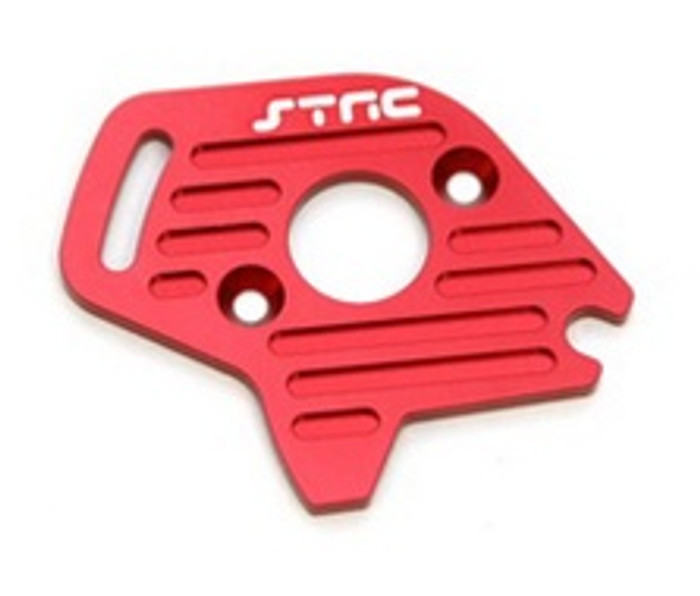 ST RACING CNC Machined Aluminum Finned Motor Plate Slash/Stampede 4x4 (Red), 6890R