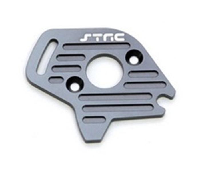 ST RACING CNC Machined Aluminum Finned Motor Plate Slash/Stampede 4x4 (Gun Metal), 6890GM