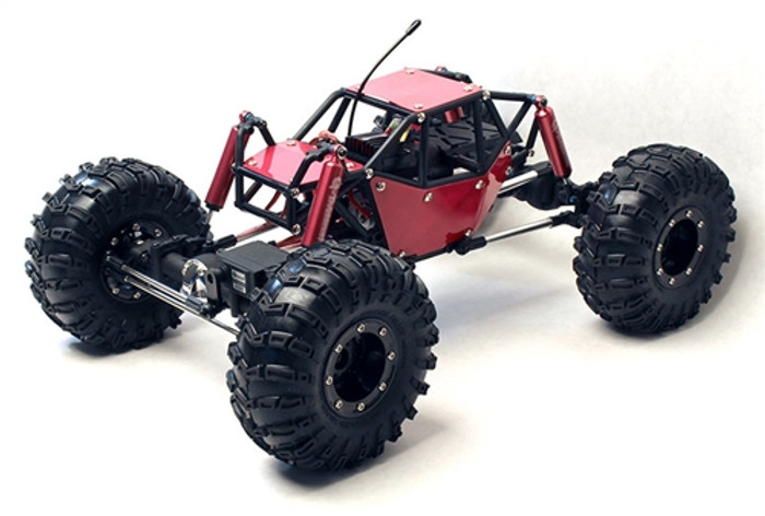 Gmade R1 RTR 4WD Rock Crawler Buggy - Red, 51011