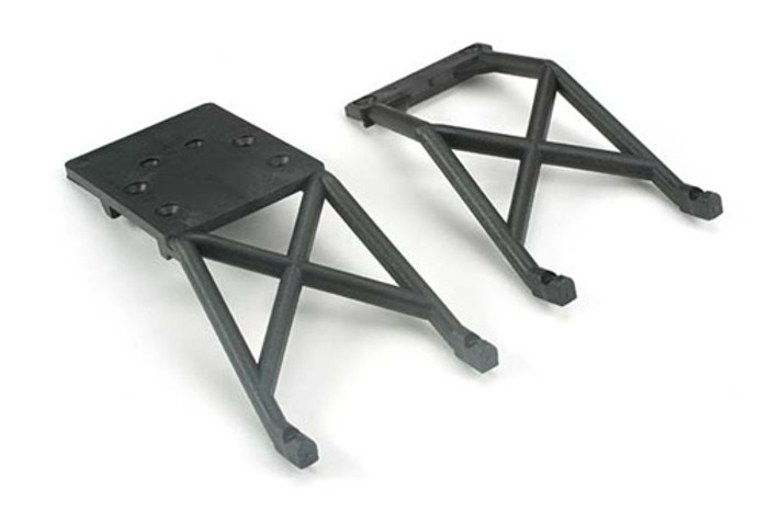 Traxxas Skid Plates Stampede front & rear, 3623