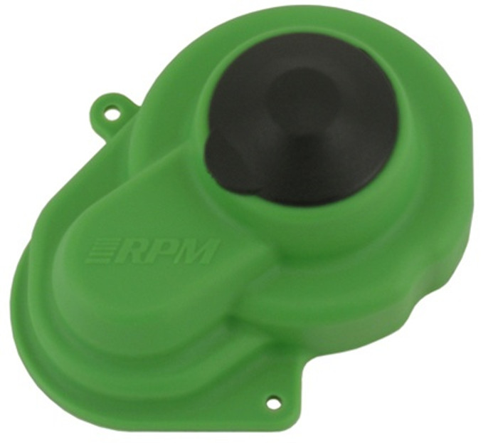 RPM Sealed Gear Cover for Traxxas Electric Rustler/Stampede/Bandit/Slash 2WD - Green, 80524