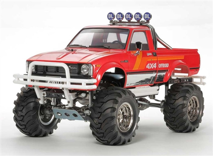 Tamiya RC Toyota Mountain Rider 4x4 Pick-Up Limited Edition Kit, 47394