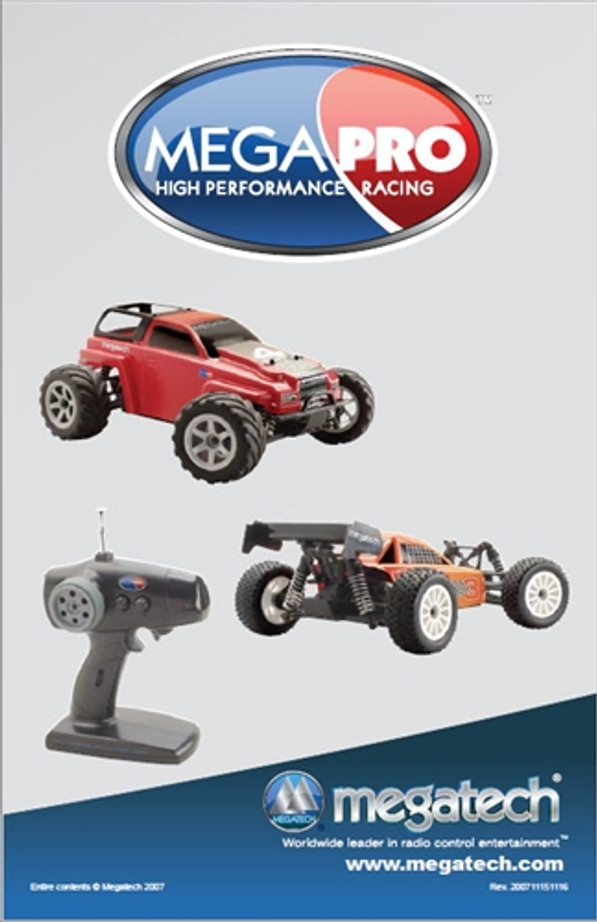 Megatech Megapro/Propulse Truck and Buggy User Manual Download