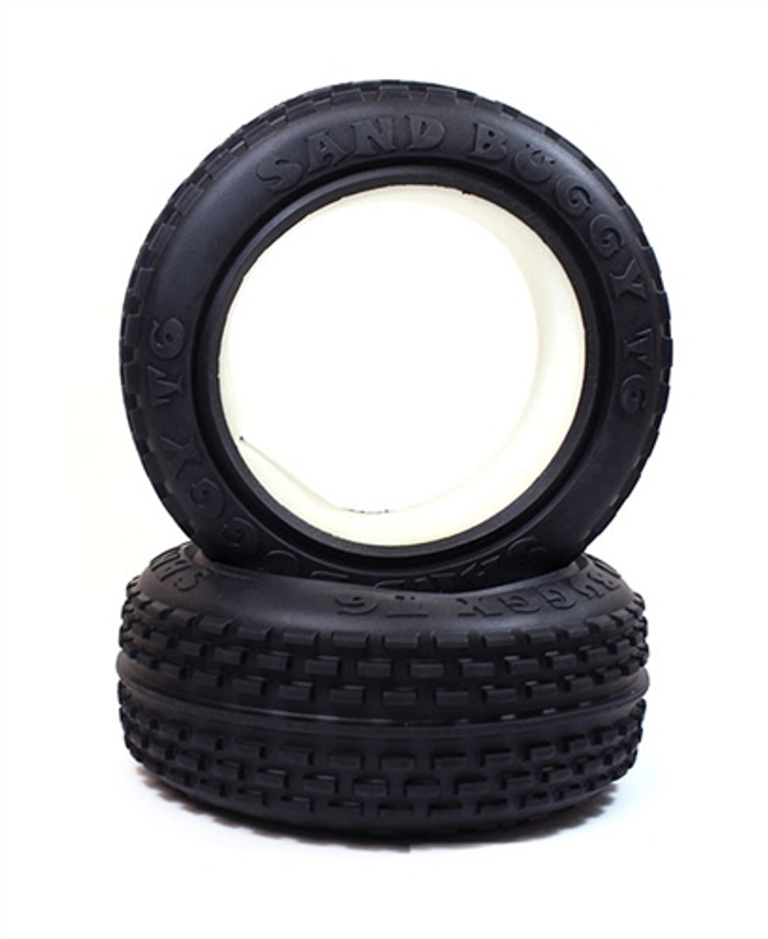 Rage RZX Brushless Buggy Front Pin Tires, C6066