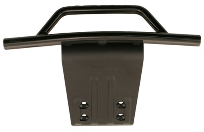 RPM Front Bumper and Skid Plate for Traxxas Slash 2WD - Black, 80952
