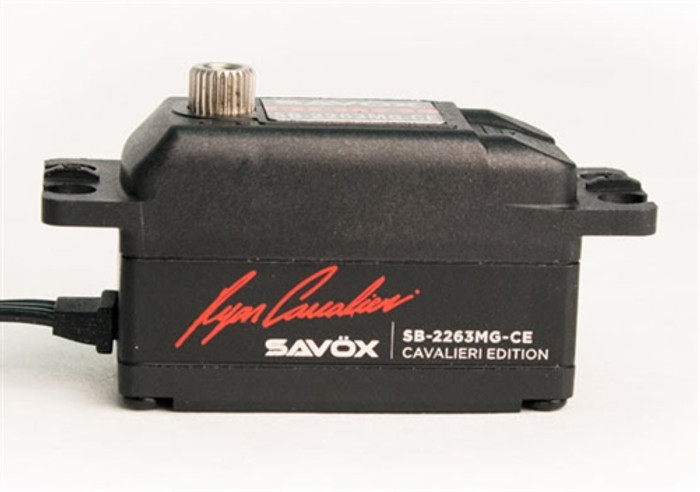 Savox SB2263MG-CE Ryan Cavalieri Edition Low Profile Brushless Digital Servo
