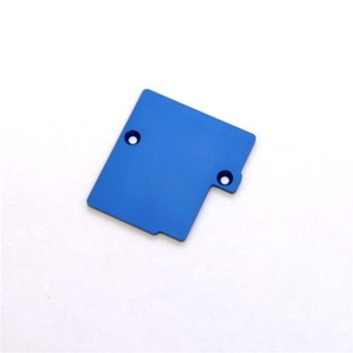 ST Racing Concepts CNC Machined Electronics Plate for Slash 4x4 (Blue), 6877B
