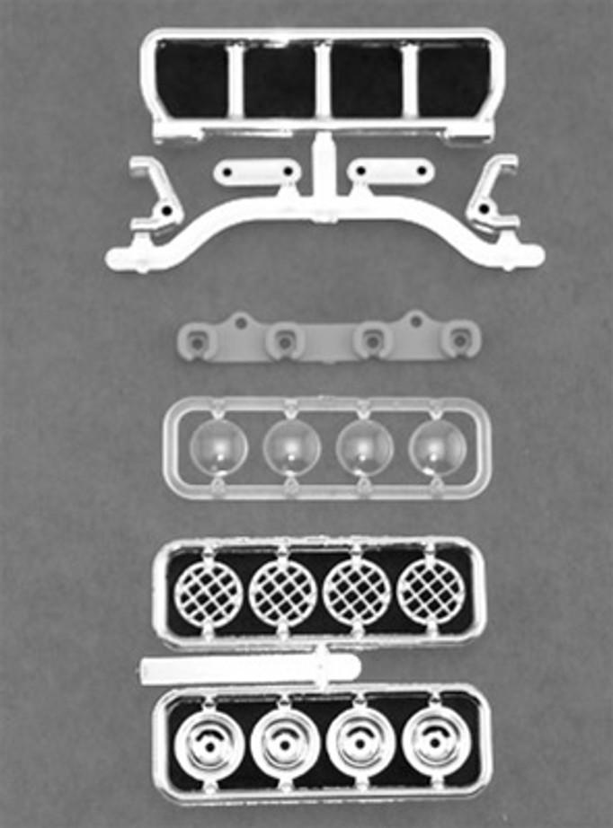 RPM Narrow Roof Mounted Light Bar Set - Chrome, 80783