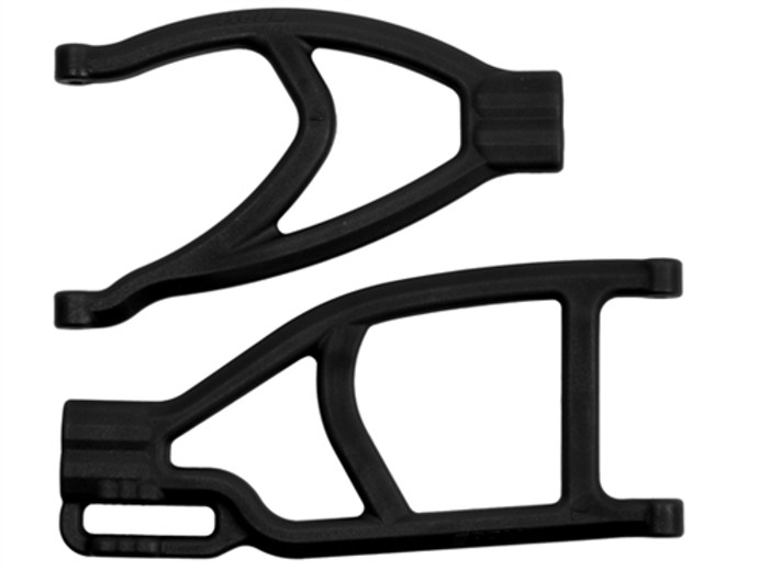 RPM Extended Left Rear A-Arms for the Traxxas Summit, Revo, and E-Revo - Black, 70432