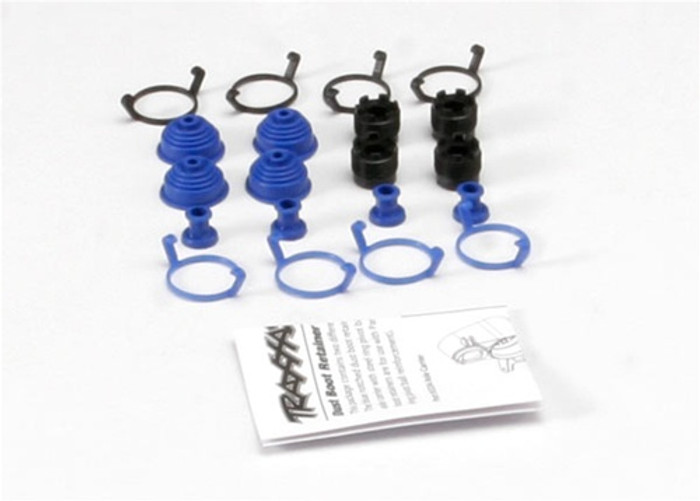 Traxxas Pivot Ball Caps w/Rubber Dust Boots, 5378X