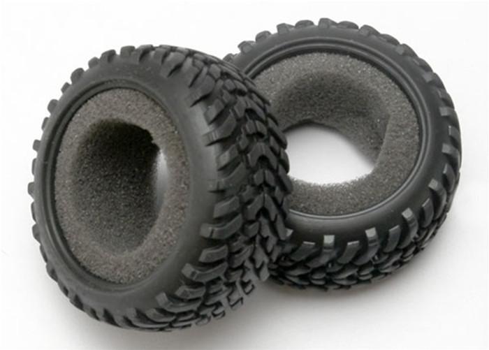 Traxxas Tires 1/16 SCT Dual Profile w/foam inserts (2), 7071